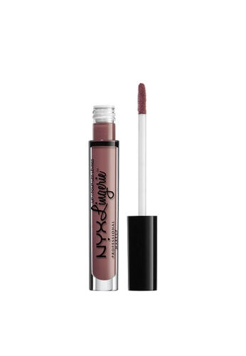 NYX Professional Makeup brown NYX Professional Makeup Lip Lingerie Liquid Lipstick - FRENCH MAID 1E584BE41AA9CFGS_1