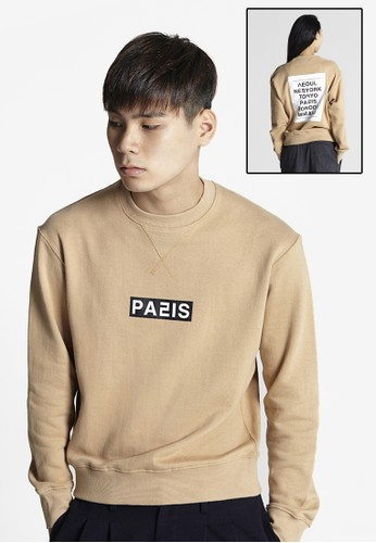 Love City Paris 長袖衫, 服飾, esprit hk外套