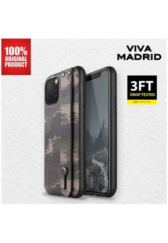 Viva Madrid green Casing iPhone 11 Pro Max Camou Stand Case Viva Madrid - Green 1CC48ES520EE86GS_1