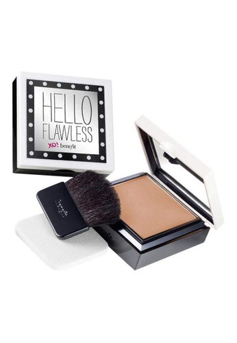 Benefit beige Hello Flawless! Powder Foundation - Champage BE433BE0FLRHSG_1