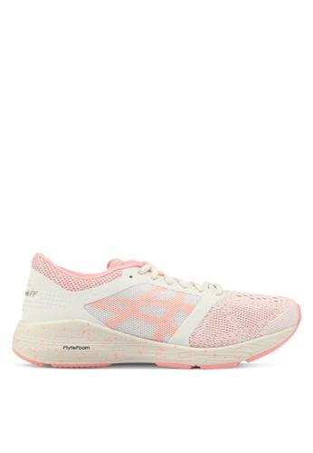 Asics pink Roadhawk FF SP Shoes AS989SH0SVTAMY_1