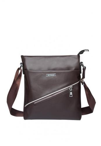 Stylebox brown JD-003 Waterproof Messenger Bags For Men Shoulder Bag Casual Bag 5DD1DAC429B874GS_1