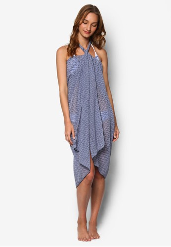 Java 圖騰設計沙灘巾zalora taiwan 時尚購物網鞋子, 服飾, 服飾