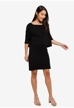 260708fc59568 20% OFF Mama.licious Maternity Marcel June 3/4 Jersey Dress HK$ 449.00 NOW  HK$ 358.90 Sizes S M L XL