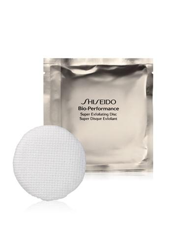 Shiseido silver Bio-Performance Super Exfoliating Discs, 8 discs EBB24BEF1A4241GS_1