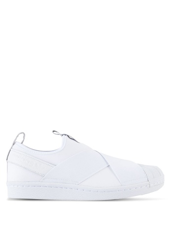 adidas white adidas originals superstar slipon AD372SH06WUFMY_1