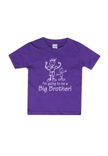 UniqTee purple Pack of 2 – I Am Going Tee F7866KA73A28FEGS_1
