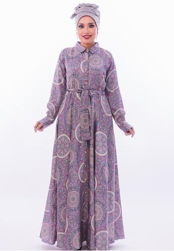 Persian pink and purple FaraPersian - Style 07 32F38AA305B470GS_1