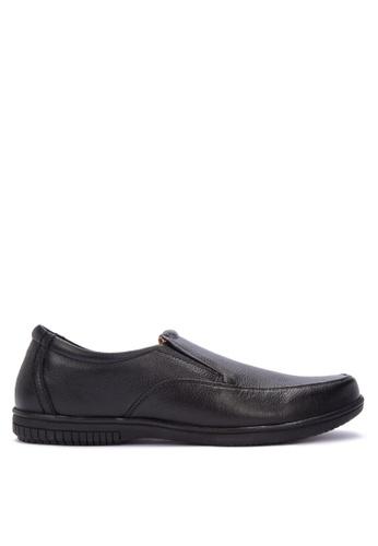 Alberto black Genuine Comfort Shoes CF71DSH4E2E7FAGS_1