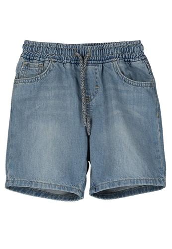 LC Waikiki blue Boy's Denim Shorts 5F582KA40F00B3GS_1