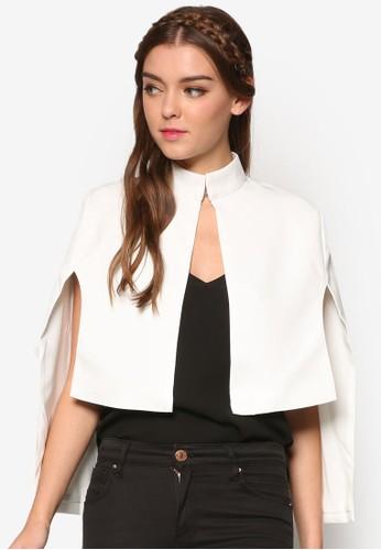 前短後長罩衫esprit服飾外套, 服飾, 防風外套 & 罩衫