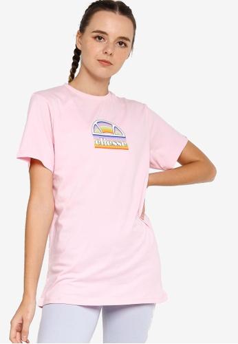 Ellesse pink Tardi Tee 79BB8AACA63FB0GS_1