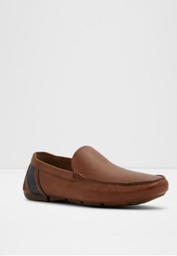 ALDO brown Liljeberg Loafers E13BCSH41A5E82GS_1