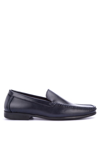 Preview navy Moc Toe Loafers C8ADCSHFFC40F7GS_1