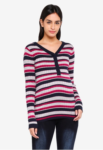 Mama.licious multi Nursing Knit Top 3A1C1AA199F4D6GS_1