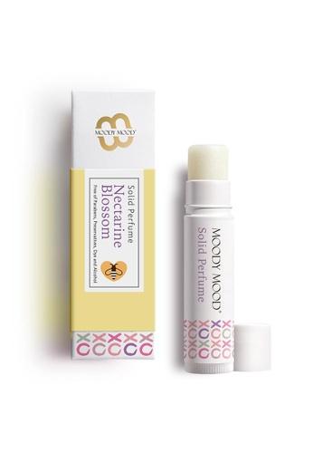 Moody Mood yellow Moody Mood Nectarine Blossom Solid Perfume 5g 0AD21BE1250861GS_1