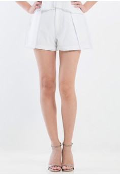 [PRE-ORDER] Duchesse mini shorts with pleats