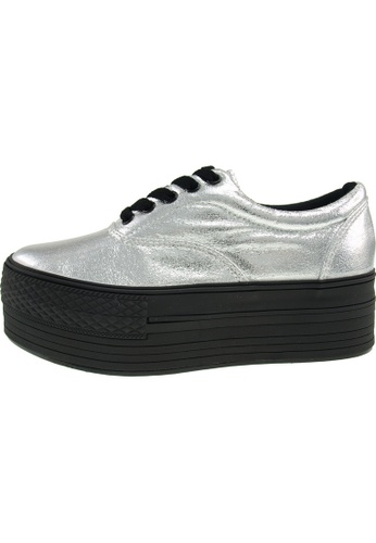 Maxstar Maxstar Women's C50 5 Holes Platform PU Low Top Sneakers US Women Size MA168SH24CJBHK_1