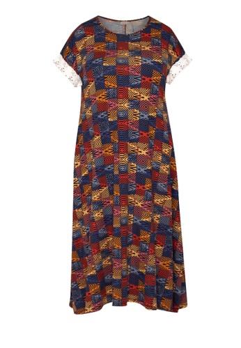 Amelia red Maternity Lara Loose Dress 2D673AA2D51395GS_1