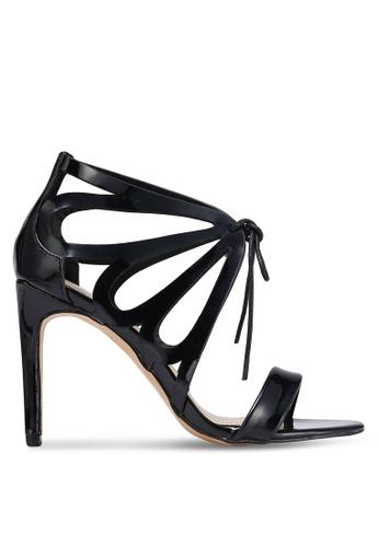 Something Borrowed black Butterfly Cut Out Heels 294DFSHA4981FEGS_1