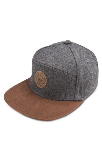 Lex 拼接esprit香港分店平簷鴨舌帽, 飾品配件, 飾品配件
