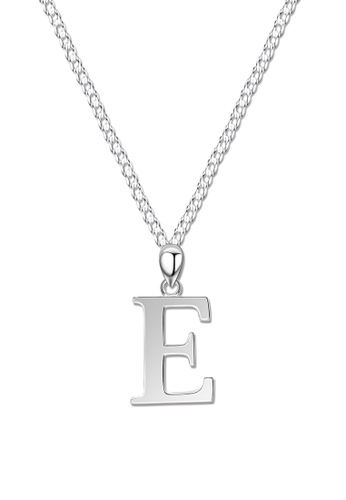SC Tom Silver silver Letter Pendant with Chain SC872AC0J8EAPH_1