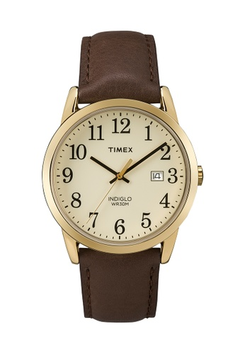 TIMEX brown Timex Easy Reader™ - TW2P75800 TI205AC0RDJ6MY_1