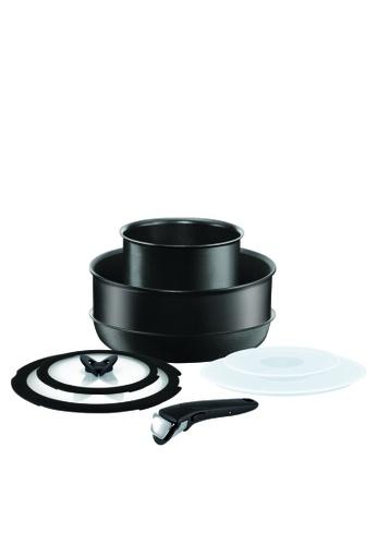 Tefal Cookware black Ingenio 8 PC Black Set 1007DAC717D3D1GS_1