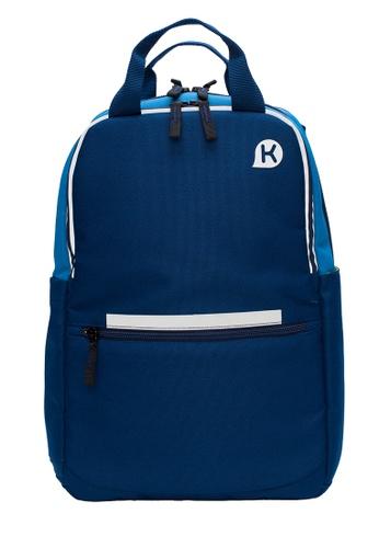 Kags blue KAGS Chester Series 2.0 Ergonomic School Backpack - Blue 8A77BKC3A011E8GS_1