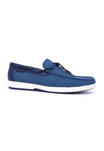 Hanson Bootmaker blue and navy Hanson Bootmaker Mocassins- Navy 2AC1ASHAEEBE13GS_1