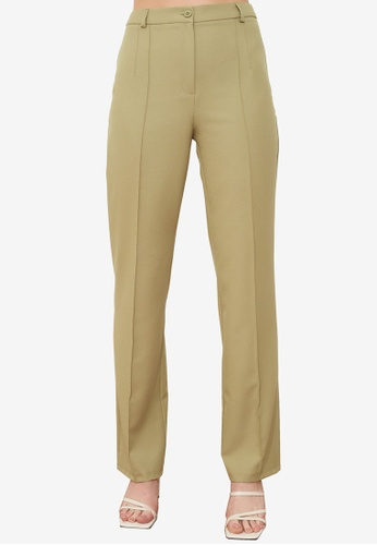Trendyol green Green Pants FECB9AA6F63824GS_1