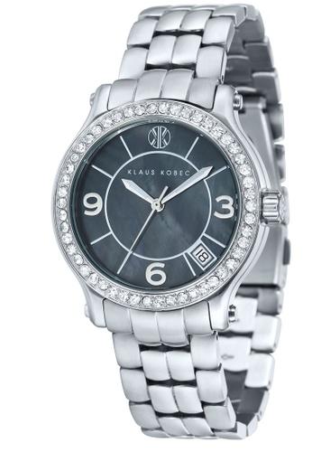 Klaus Kobec silver Klaus Kobec Women's Solid Bracelet Watch - KK-10019-11 CB2EBAC5630ED0GS_1