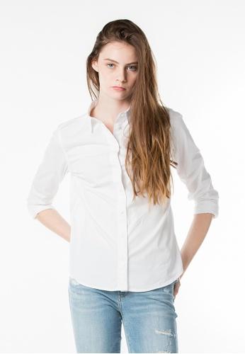 Levi's white Classic One Pocket Shirt LE843AA77JKSSG_1