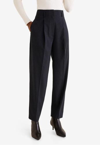 b8595e94ee Buy Mango Pinstripe Suit Trousers Online on ZALORA Singapore