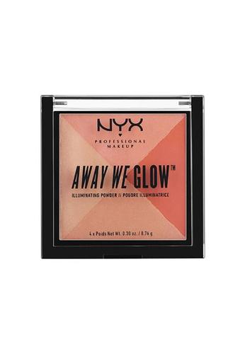 NYX Professional Makeup multi NYX Professional Makeup Away We Glow™ Illuminating Powder-SUMMER REFLECTION 639A0BE621AE52GS_1