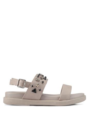 Bata grey Skylar Sandals EB69DSH0BCB12DGS_1
