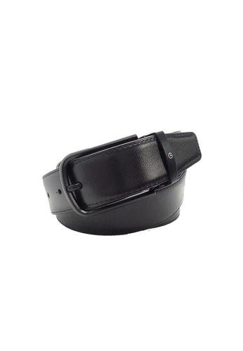 Goldlion black Goldlion Men Pin Belt - Black 3732EAC0465F25GS_1