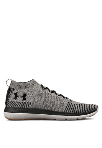 Under Armour grey UA Slingflex Rise Shoes 3B4CFSH674B9AFGS_1