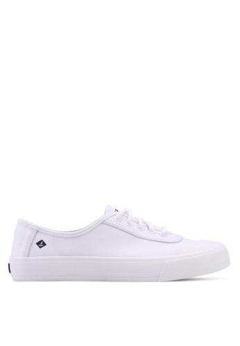 Sperry white A8 Crest Edge LTT Sneaker 1F9CASH0228D7AGS_1