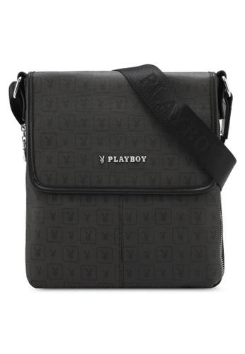 Playboy black Playboy Sling Bag PL371AC0SMCCMY_1