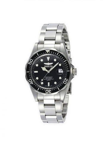 b1c85374e INVICTA black and silver Invicta Pro Diver Men 38mm Quartz Stainless Steel Diving  Watch 8932 534A5AC2AFDFD9GS_1