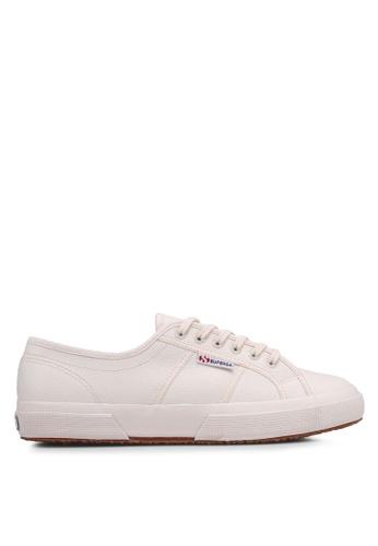 Superga beige Cot3Strapu Sneakers E4CDBSHA9FB512GS_1