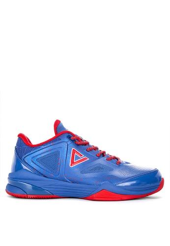 df7a29ec1b PEAK blue TP9-III Tony Parker Low Top Basketball Shoes DDAABSH7334DACGS_1
