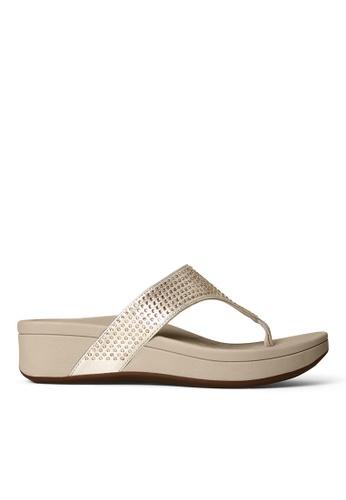 Vionic gold Naples Platform Sandal A13C3SH893B4D4GS_1