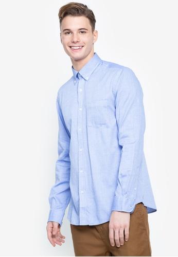 Cortefiel blue Coolmax Plain Shirt EF692AA073188FGS_1
