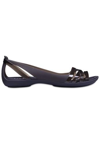 e1ac525d8496bd Crocs black Women s Crocs Isabella Huarache II Flat Blk Blk  5DEE0SHE305863GS 1