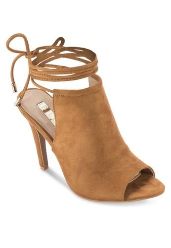 Odessa 魚口繫帶高跟涼鞋,esprit tw 女鞋, 鞋