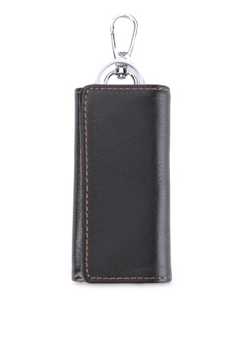LOMBARDI GIOVANNI orange and brown Lionel Bifolds Wallet D2FBCAC1695F10GS_1