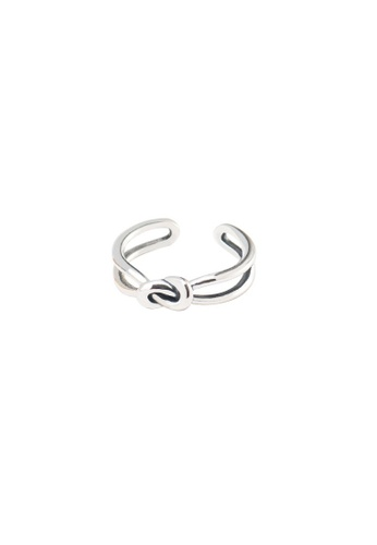 A-Excellence silver Premium S925 Sliver Geometric Ring 890F2AC1EB567BGS_1