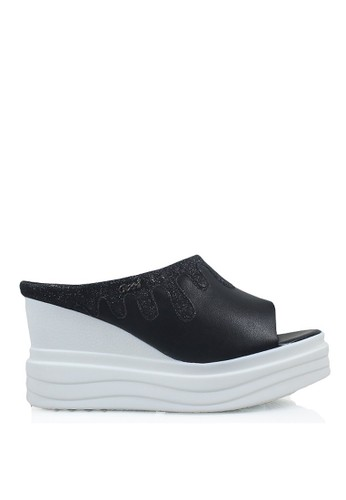 GOSH black Sandal Wedges 6EE5ASH7F1BA9EGS 1 75d7aaa211